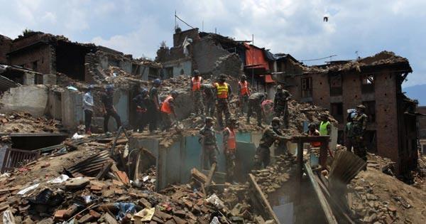 แผ่นดินไหวเนปาล