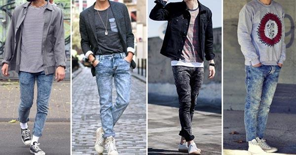 กางเกงยีนส์ผู้ชาย