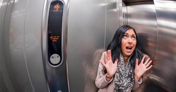 ลิฟต์ค้าง